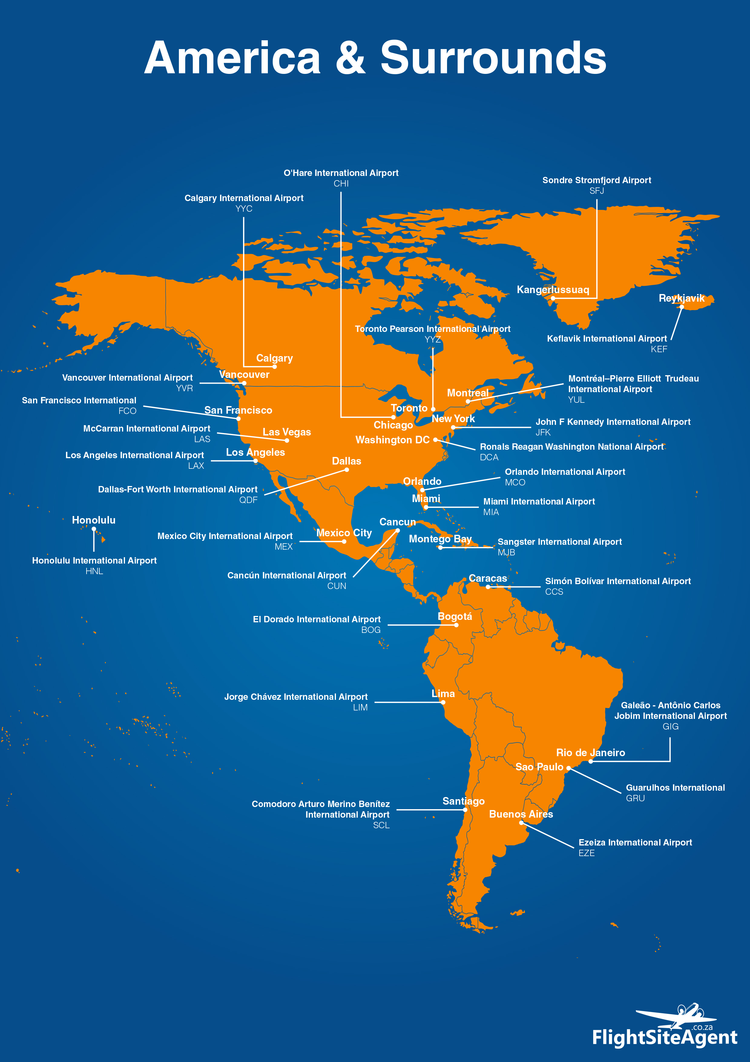 A snapshot of all major airports around the world flightsiteagent america gumiabroncs Choice Image