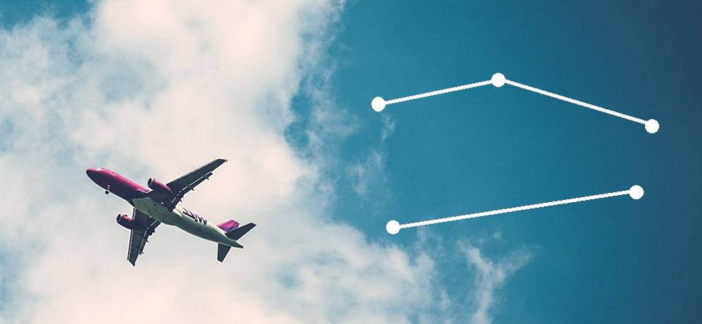 Direct flights versus connecting flights